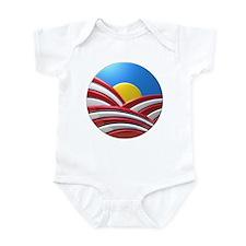 American Sunrise Infant Bodysuit