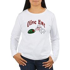 I Love You: Olive Ewe T-Shirt