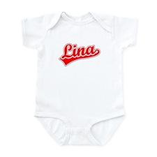 Retro Lina (Red) Infant Bodysuit