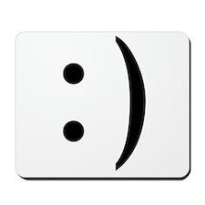 ASCII Smiley Guy Mousepad