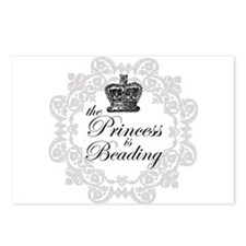 The Princess Is Beading Postcards (Package of 8)