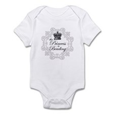 The Princess Is Beading Infant Bodysuit