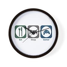 Eat Sleep Gamer Wall Clock