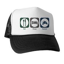 Eat Sleep Gamer Trucker Hat