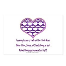 Family & Fibro Friends Weave 2 Postcards (Package