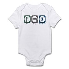 Eat Sleep Game Shows Infant Bodysuit