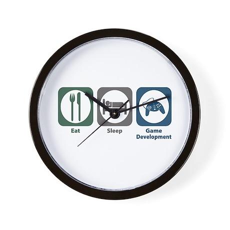 Eat Sleep Game Development Wall Clock