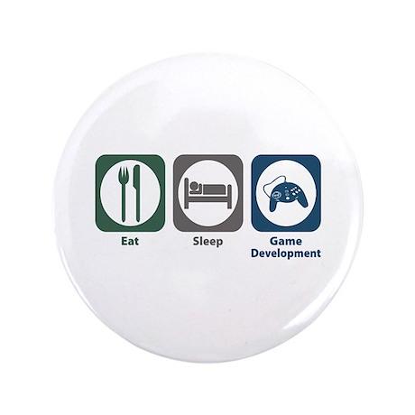 "Eat Sleep Game Development 3.5"" Button"