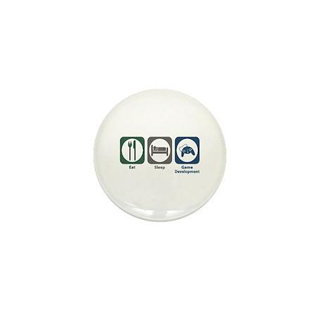 Eat Sleep Game Development Mini Button (100 pack)