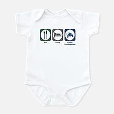 Eat Sleep Game Development Infant Bodysuit