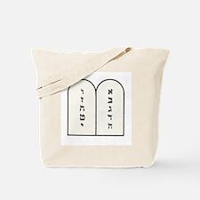Ten Commandments [Decalogue] Tote Bag