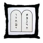 Ten Commandments [Decalogue] Throw Pillow