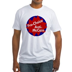 Pro-Choice, Anti-McCain T-Shirt