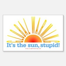 It's the Sun, Stupid Rectangle Decal