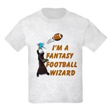 Fantasy Football Wizard #1 T-Shirt