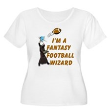 Fantasy Football Wizard #1 T-Shirt