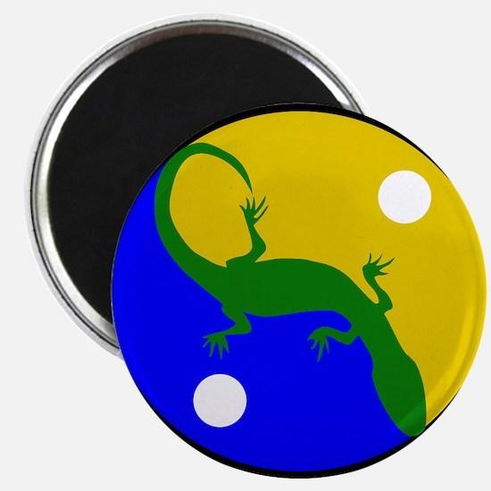 "Yin Yang Gecko 2.25"" Magnet (10 pack)"