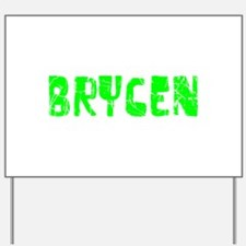Brycen Faded (Green) Yard Sign