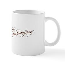 Old Goss logo-ad-mug Mugs