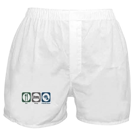 Eat Sleep French Horn Boxer Shorts