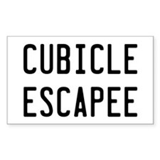 Cubicle Escapee Decal
