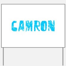 Camron Faded (Blue) Yard Sign