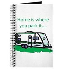 Home is where you park it Journal