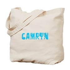 Camryn Faded (Blue) Tote Bag