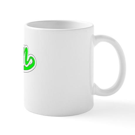 Retro Arjun (Green) Mug