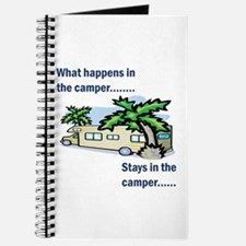 Stays in the camper Journal