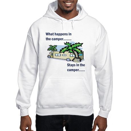 Stays in the camper Hooded Sweatshirt