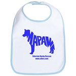 MaPaw Husky-blue Bib