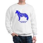 MaPaw Husky-blue Sweatshirt