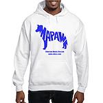 MaPaw Husky-blue Hooded Sweatshirt