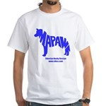 MaPaw Husky-blue White T-Shirt
