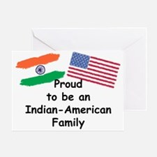Indian-American Family Greeting Card
