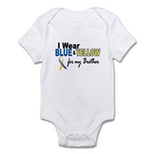 I Wear Blue & Yellow....2 (Brother) Infant Bodysui