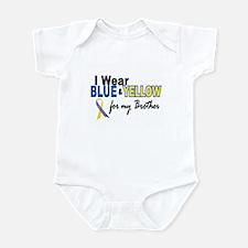 I Wear Blue & Yellow....2 (Brother) Infant Bodysui