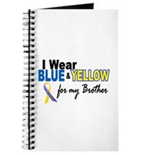 I Wear Blue & Yellow....2 (Brother) Journal