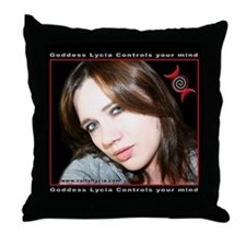 Unique Humiliatrix Throw Pillow