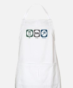 Eat Sleep Flowers BBQ Apron