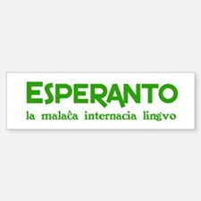 Nonwretched Esperanto Bumper Bumper Bumper Sticker