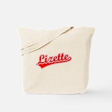 Retro Lizette (Red) Tote Bag