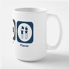 Eat Sleep Flavor Large Mug