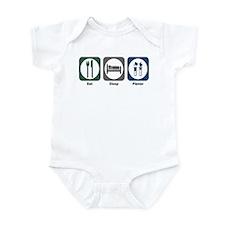 Eat Sleep Flavor Infant Bodysuit