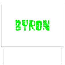 Byron Faded (Green) Yard Sign