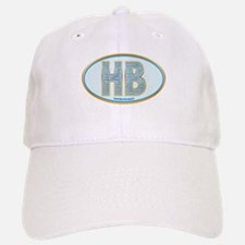 Fancy Blue HB Baseball Baseball Cap