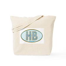 Fancy Blue HB Tote Bag