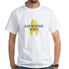 Airborne Wife Ribbon Shirt