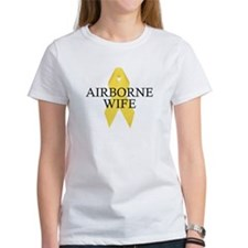 Airborne Wife Ribbon Tee
